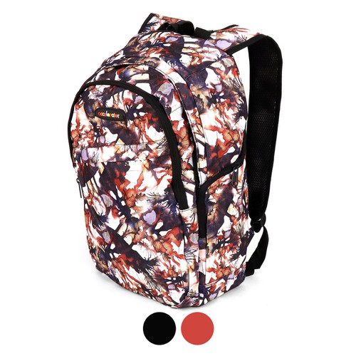 Abstract Pattern School Backpack - orangeshine.com
