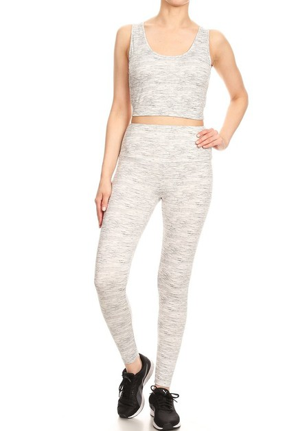Yoga Activewear Sets Sports Leggings - orangeshine.com