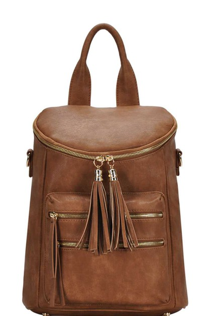 CHIC TASSEL BACKPACK - orangeshine.com