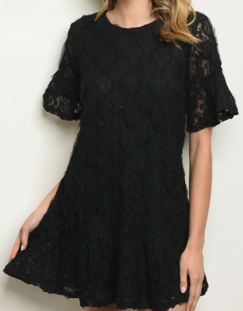 Lace Dress  - orangeshine.com