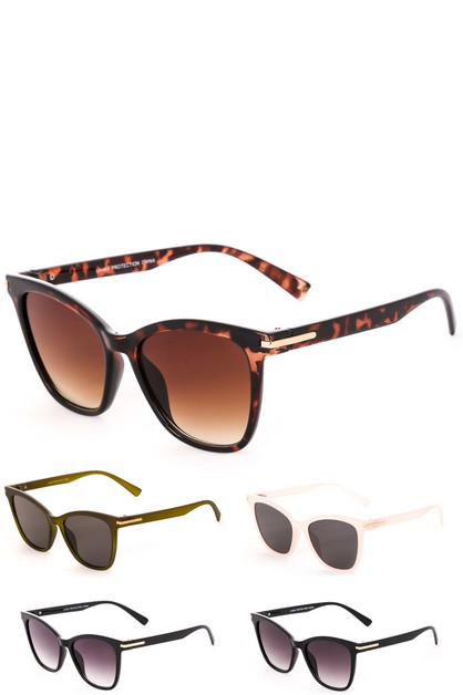 Acetate Square Sunglasses - orangeshine.com