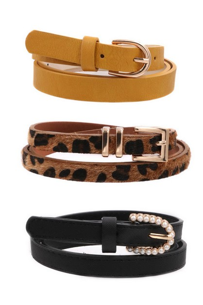 Buckle Belt Set - orangeshine.com