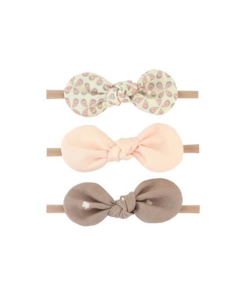 Pink Baby Headband Bow Set - orangeshine.com