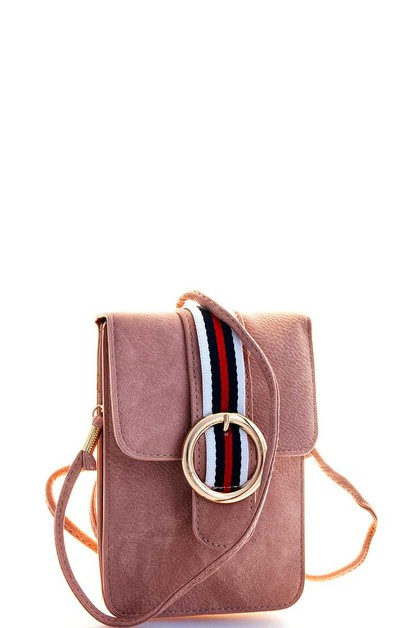 STRIPED CUTE CROSSBODY POUCH  - orangeshine.com