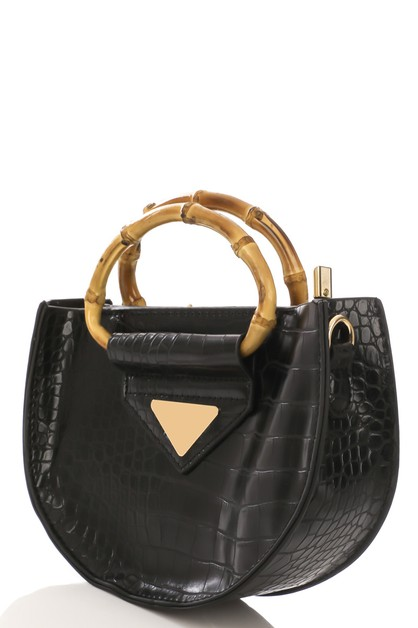Semi Circle Fashion Handbag - orangeshine.com