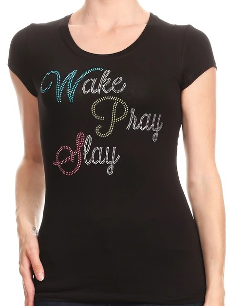 Wake Pray Slay  - orangeshine.com