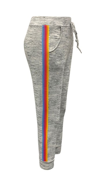 Girls Grey Joggers Kids Sweatpants  - orangeshine.com