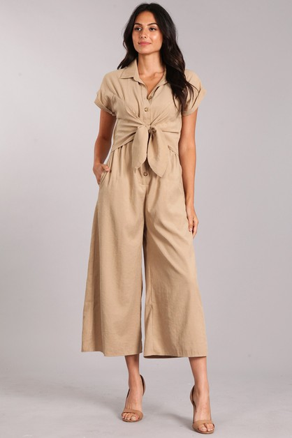 Relaxed Fit Jumpsuit - orangeshine.com