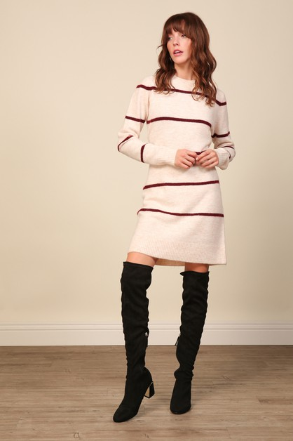 Eska Sweater Dress - orangeshine.com