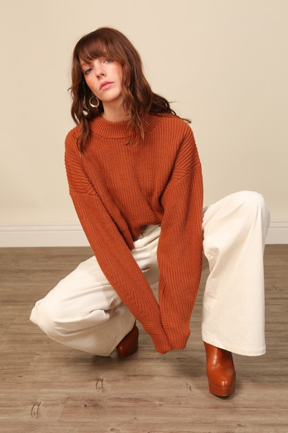 Sienna Sweater - orangeshine.com