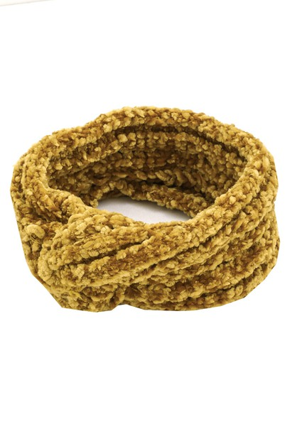 Soft Twist Knit Headband - orangeshine.com
