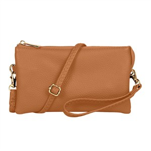 FAUX CROSSBODY WRISTLET BAG - orangeshine.com