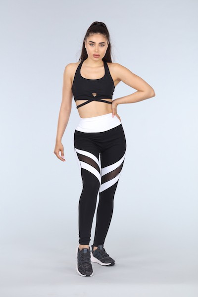 The Active Society Leggings  - orangeshine.com