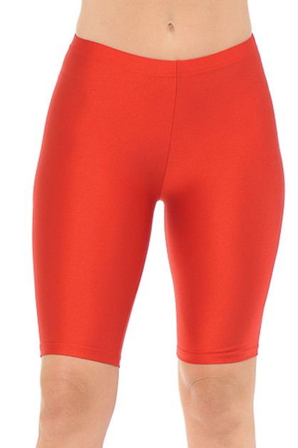 HIGH WAIST BIKER SHORTS - orangeshine.com