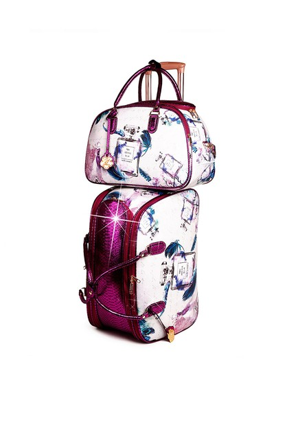 Arosa Fragrance Matching Duffel Set - orangeshine.com