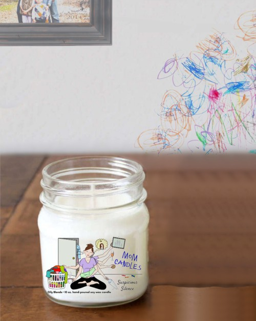 Funny Mom Candles - orangeshine.com