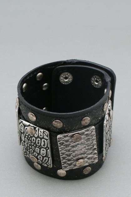LEATHER  NON STRETCH BRACELET - orangeshine.com