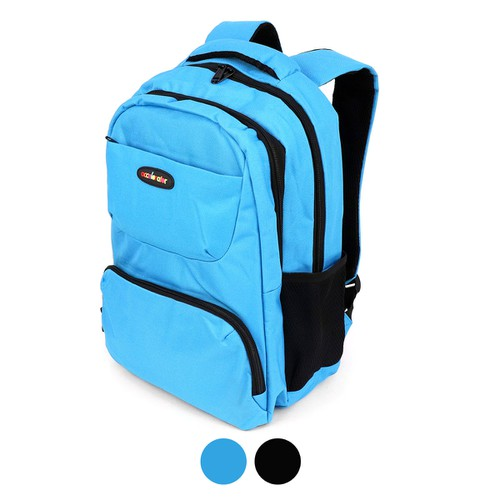 Double Compartment Solid Backpack  - orangeshine.com