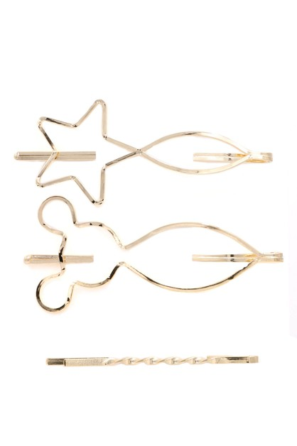 Metal Hair Pin Set - orangeshine.com
