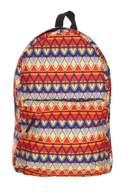 Aztec Peru Sublimated Backpack - orangeshine.com