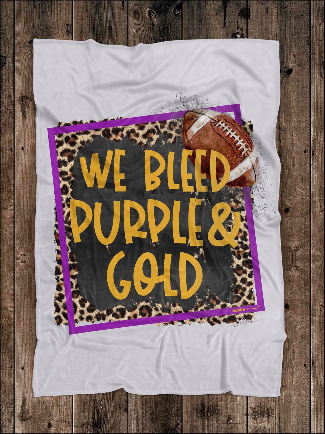 We Bleed Spirit Colors BLanket - orangeshine.com