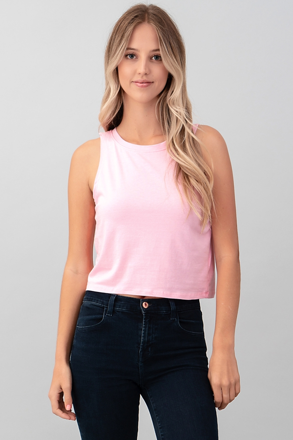 LOOSE CROP TANK TOP - orangeshine.com