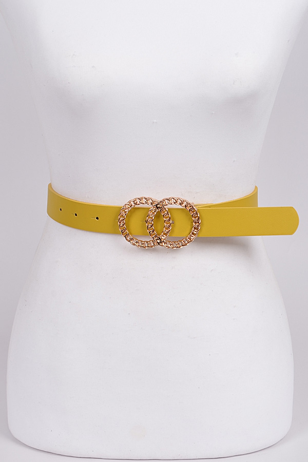 Two Hoop Belt - orangeshine.com