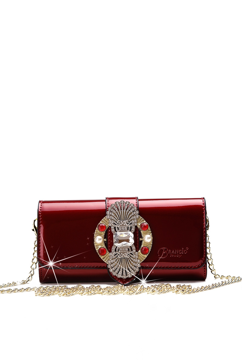 Queen Chained Clutch Wallet - orangeshine.com
