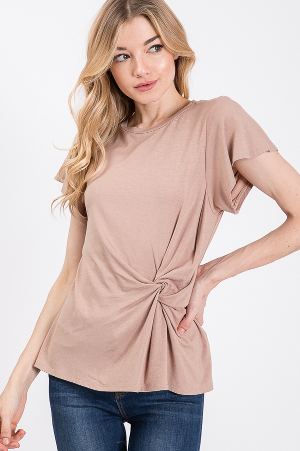 UNIQUE LIARA KNOT TOP - orangeshine.com