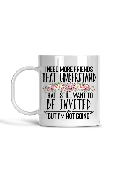 Friends to Understand - Mug - orangeshine.com