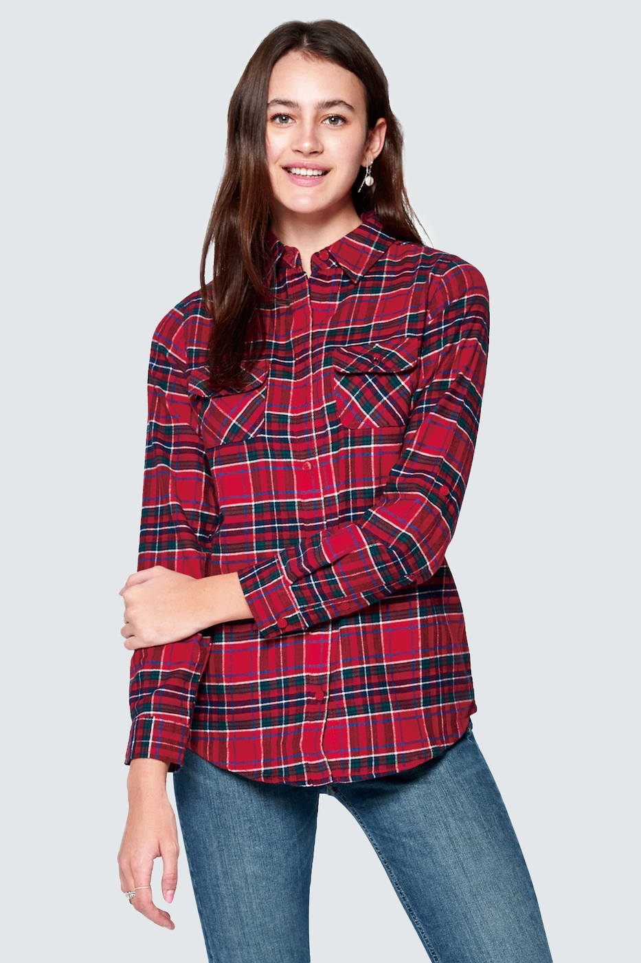 CASUAL PLAID FLANNEL - orangeshine.com