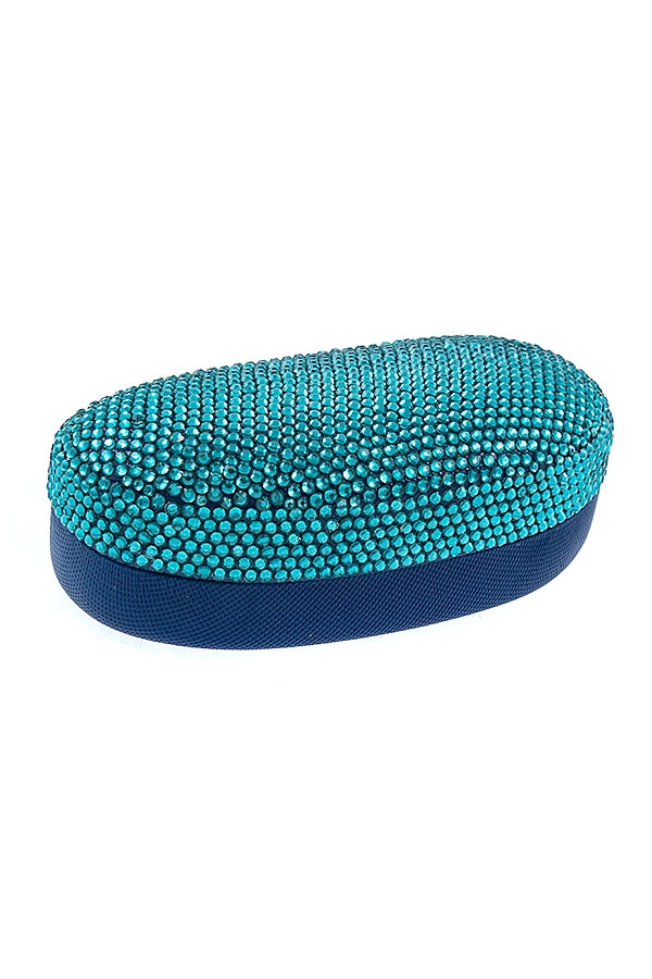 RHINESTONE PAVE GLASSES CASE - orangeshine.com