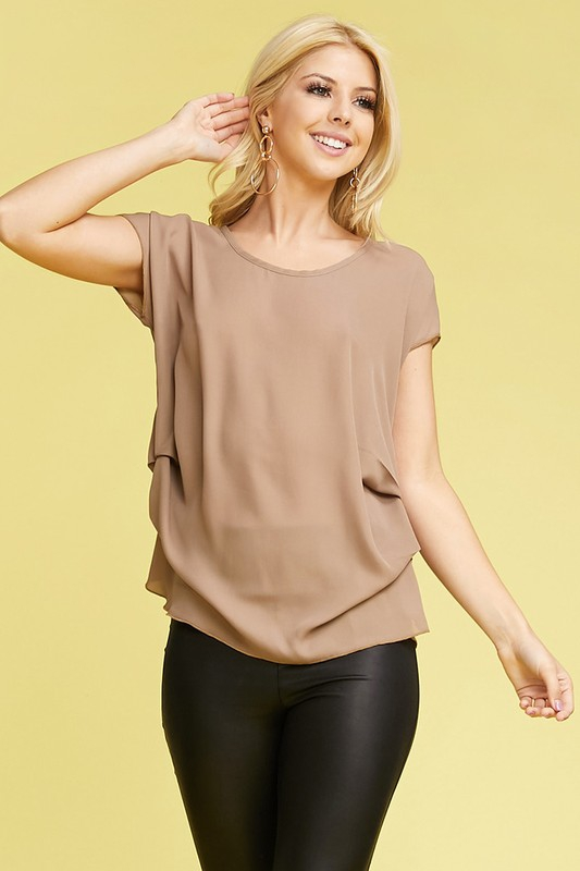 SIDE BLOUSE WITH SIDE PIN DETAIL - orangeshine.com