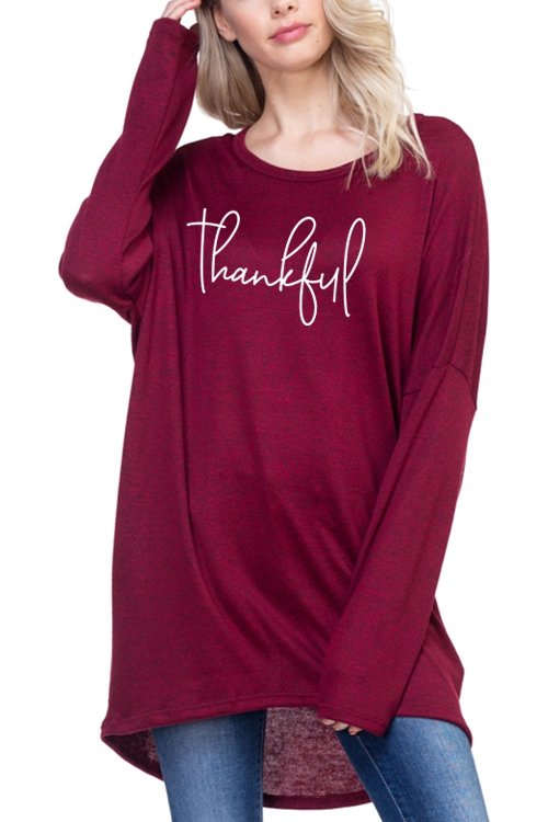 THANKFUL TOP - orangeshine.com