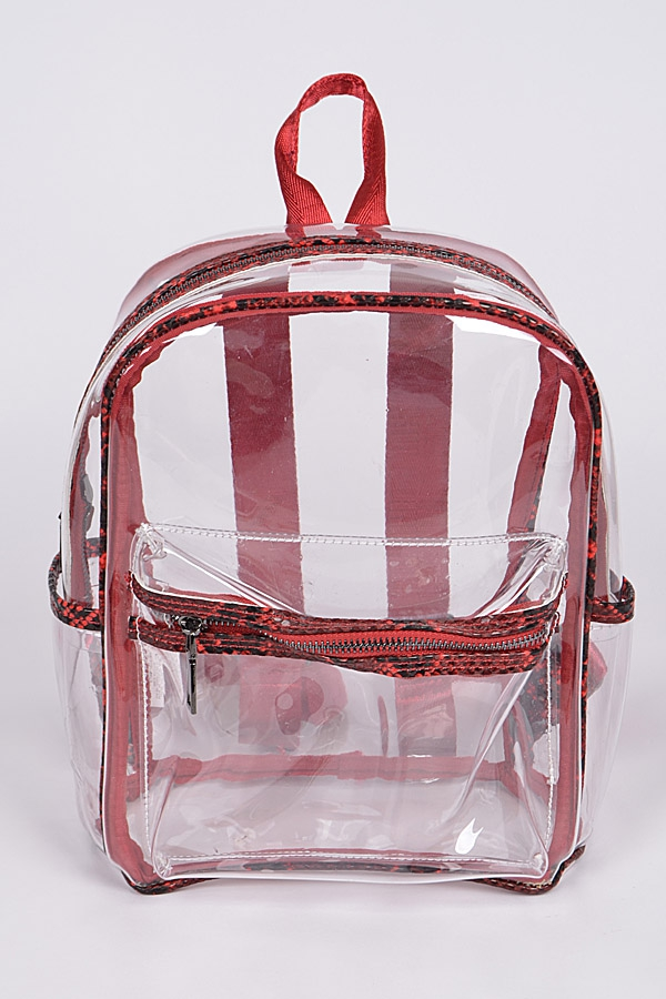 Translucent Snakeskin Backpack - orangeshine.com