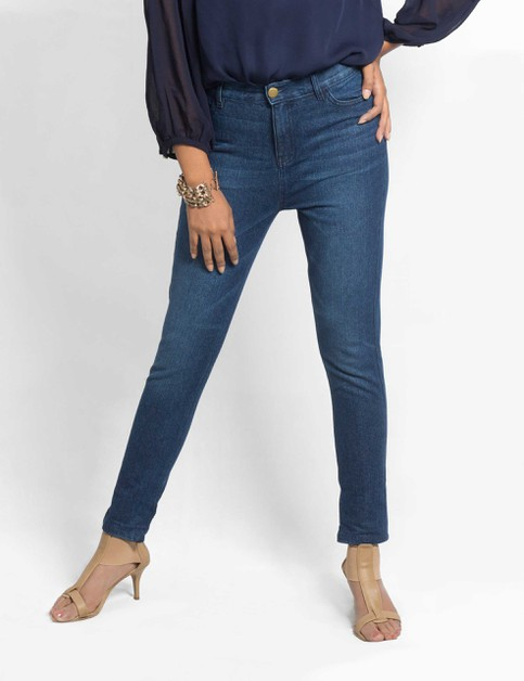 Womens Denim Pants Slim Fit - orangeshine.com