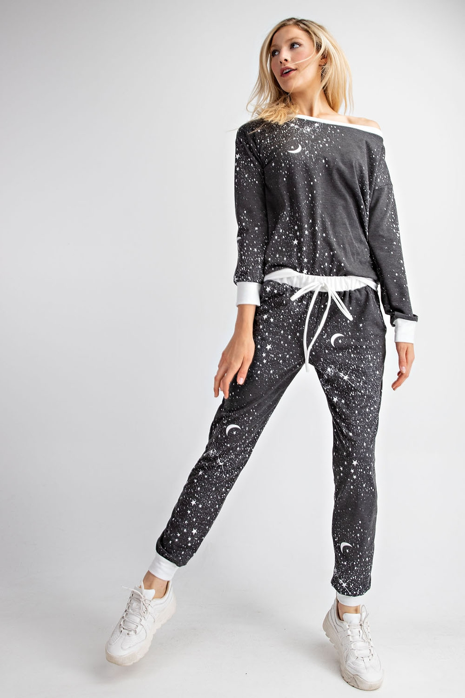 GALAXY  FRENCH TERRY JOGGER - orangeshine.com