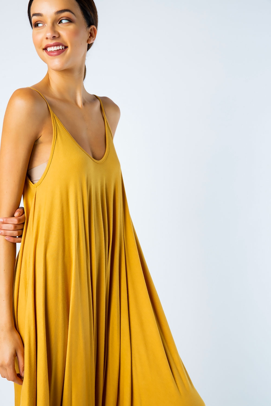 KNIT SLEEVELESS CAPRI HAREM JUMPSUIT - orangeshine.com