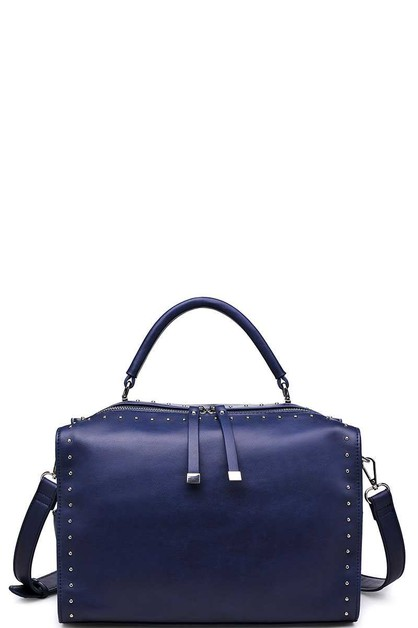 LUXURY MADDEN SATCHEL BAG WITH LONG  - orangeshine.com