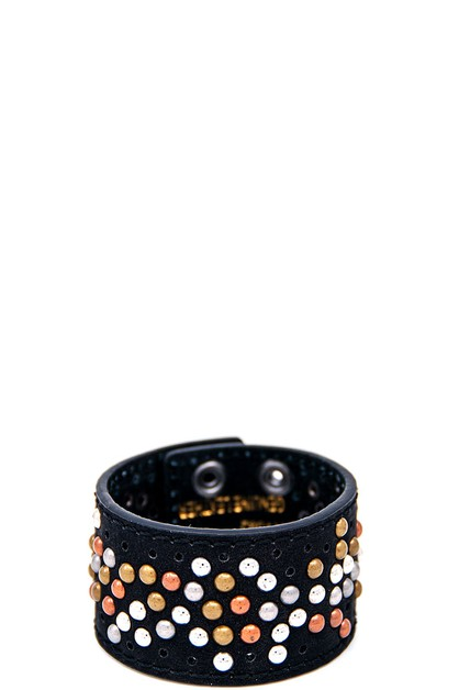 MULTI COLOR STUDDED BRACELET - orangeshine.com