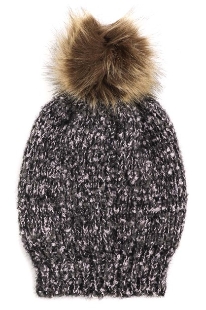 Winter Knitted Pom Beanie - orangeshine.com