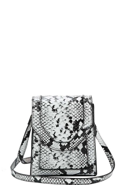 CUTE PYTHON PATTERN CROSSBODY - orangeshine.com