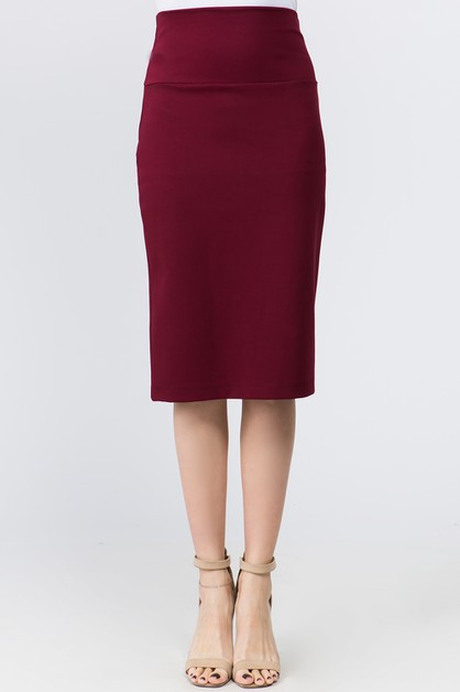 Pencil Skirt  - orangeshine.com