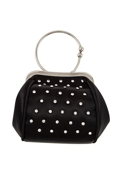 CRYSTAL GEM STUD MINI BAG - orangeshine.com