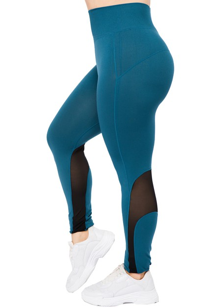 Active Mesh Legging - orangeshine.com