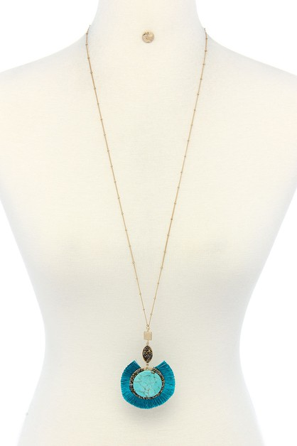 CHIC PANDANT NECKLACE - orangeshine.com
