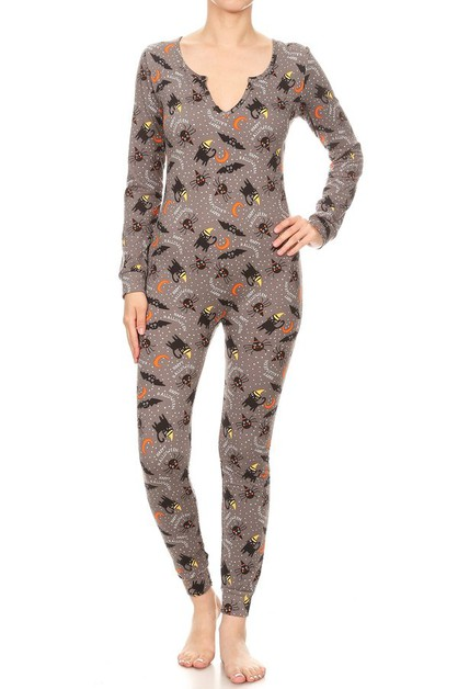 Winter Jumpsuits Pajamas Halloween - orangeshine.com