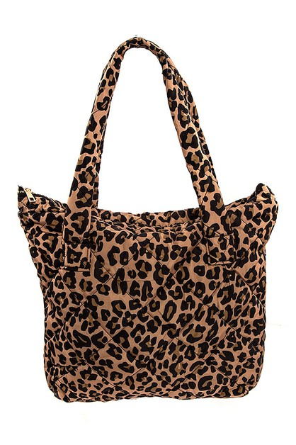 ANIMAL PRINT FASHION TOTE BAG  - orangeshine.com