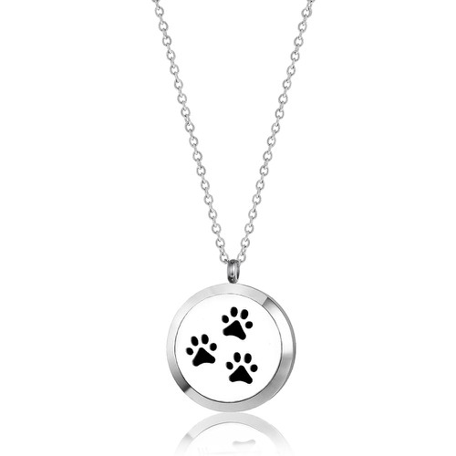 PAW PRINTS NECKLACE - orangeshine.com
