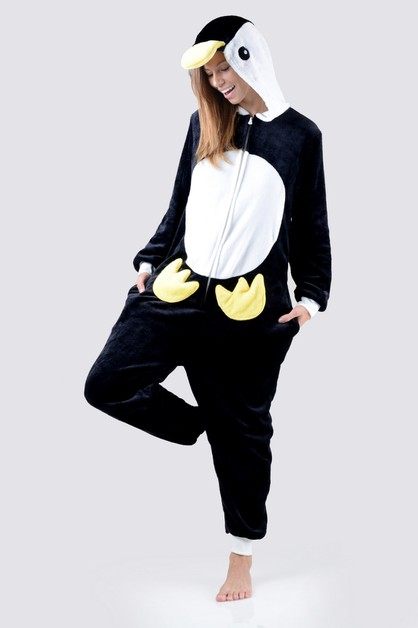 Penguin Animal Onesie Pajama - orangeshine.com